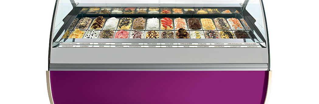 Evo Gelato and Ice Cream Display Case