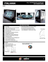 Download Italiana Low Temp Cut Sheets