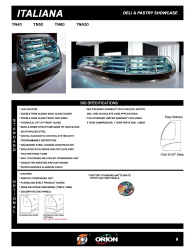Download Italiana Deli and Pastry Linear & Curved Cut Sheets
