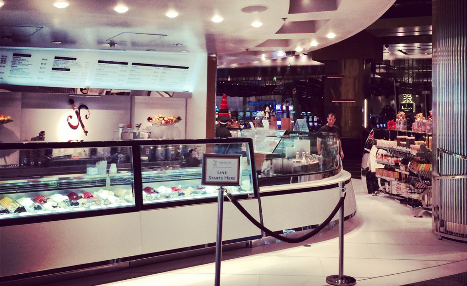 Foodservice Display installation at Jean-Philippe Patisserie at the Bellagio Las Vegas